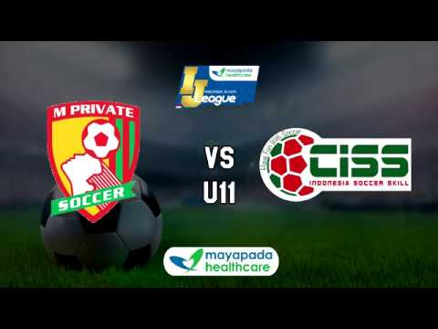 MPrivate Soccer vs CISS Soccer Skill [Indonesia Junior Mayapada League 2018] [U11] 11-3-2018