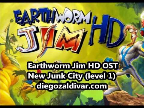 Earthworm Jim HD Music - New Junk City