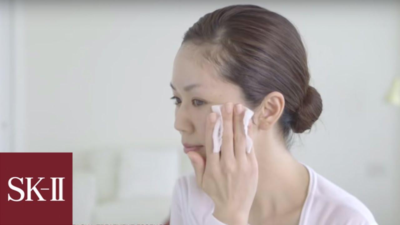 Application Guide Sk Ii Facial Treatment Essence Youtube Skii Paket Brightening Medium A