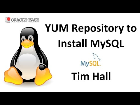 Linux : Using a Yum Repository to Install MySQL