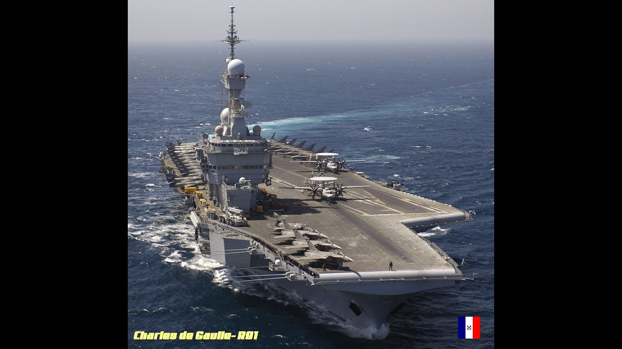 The carrier Charles de Gaulle of the French Navy took to the sea at the end of medium repair and modernization 47