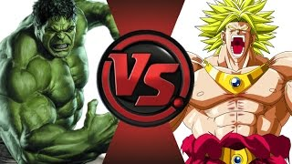 HULK vs BROLY! Cartoon Fight Club Episode 25