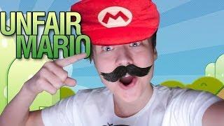 МОИ НЕРВЫ ИМЕЮТ ПРЕДЕЛ! | Unfair Mario