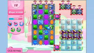 Candy Crush Saga Level 5941 NO BOOSTERS Cookie