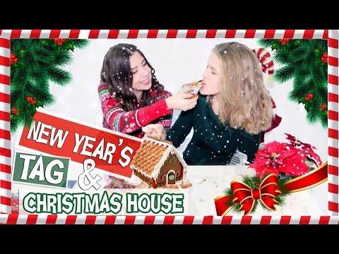 Рецепт Christmas Q&A || Cooking  пряничный домик