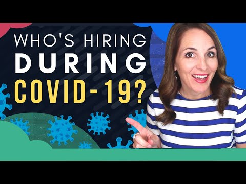COVID-19 Jobs – Industries HIRING During The CORONAVIRUS Outbreak