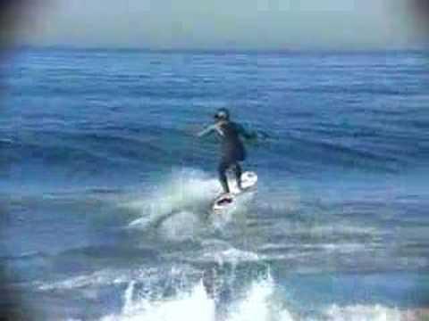 Winch surfing