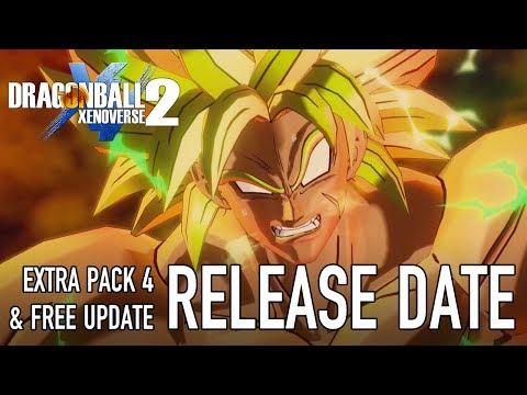 Dragon Ball Xenoverse 2 - PS4/XB1/PC/SWITCH - Extra Pack 4 Content and Release date