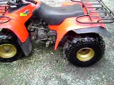 quad yamaha moto 4 250