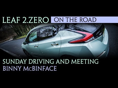 Nissan Leaf 2018 - Sunday Driving and Datsun meets Binny McBinface