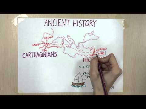 Ancient history: Phoenicians and Carthaginians. History for Primary Education