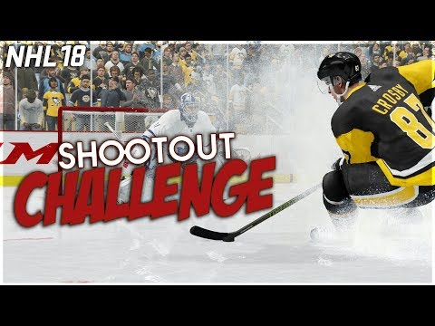 NHL 18 SHOOTOUT CHALLENGE #7 *SICK GOALS ONLY*