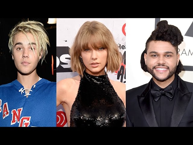 The Weeknd, Justin Bieber & Taylor Swift Top 2016 Billboard Music Award Nominations