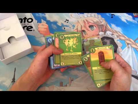 Adventure Time Card Wars Finn Vs. Jake Unboxing