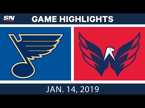 NHL Highlights | Blues vs. Capitals - Jan. 14, 2019
