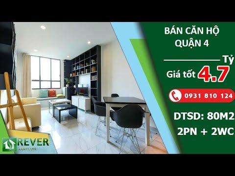 Bán căn hộ The Icon 56, diện tích 80m2 thiết kế 2 phòng ngủ hiện đại | Rever