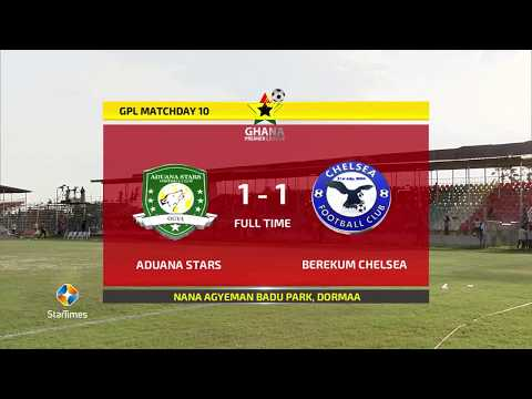 Footy-GHANA.com :: Match Highlights: Aduana Stars 1-1 Berekum Chelsea | #GHPLwk10