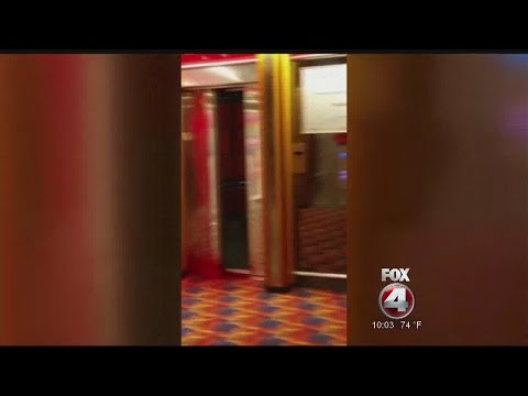 Blood on cruise ship
