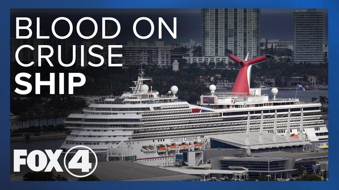 Blood On Cruise Ship YouTube - Man dies on cruise ship