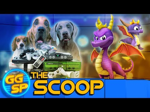 Spyro Trilogy Remaster Confirmed, And Dogs Playing Video Games!   The Scoop