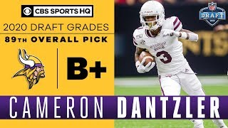 The Vikings select a PHYSICAL player in Cameron Dantzler with the 89th pick | 2020 NFL Draft