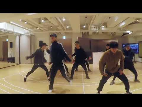 [mirrored & 50% slowed] EXO - ELECTRIC KISS Dance Practice Video