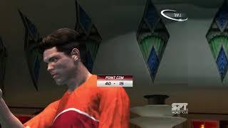 "Virtua Tennis 3 ""King Of Players"" vs Taylor Dent (World Tour) Final"
