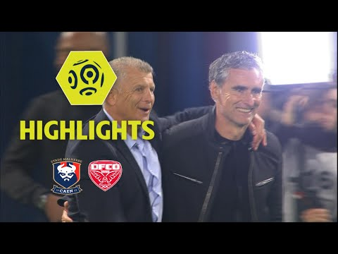 SM Caen - Dijon FCO (2-1) - Highlights - (SMC - DFCO) / 2017-18