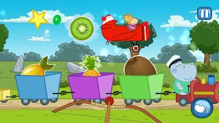 """Kids Train """"Hippo Kids Games Educational Brain Games"""" Android Apps Gameplay Video"""