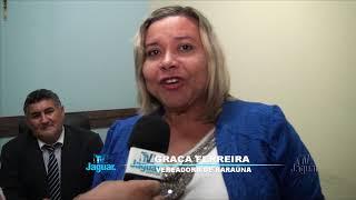 Vereadora Graça Ferreira de Baraúna em intercambio com o parlamento Quixereense