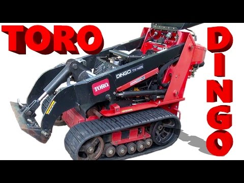 Toro Dingo Compact Track Loader - What can YOU do?