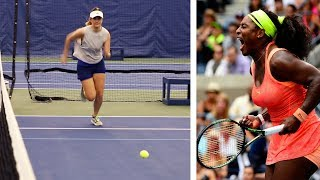 We Tried Out To Be A US Open Tennis Ballperson