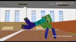 Школа Монстров (Minecraft анимация с словами) - Прыжки через козла Мне понравилось