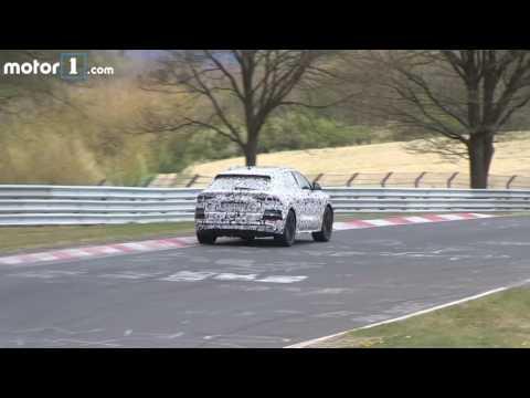 2018 Audi Q8 spy video