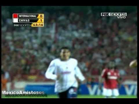 Gol Marco Fabian De La Mora Inter vs Chivas 3-2 FINAL Copa Santander Libertadores 2010 [18/08/10]