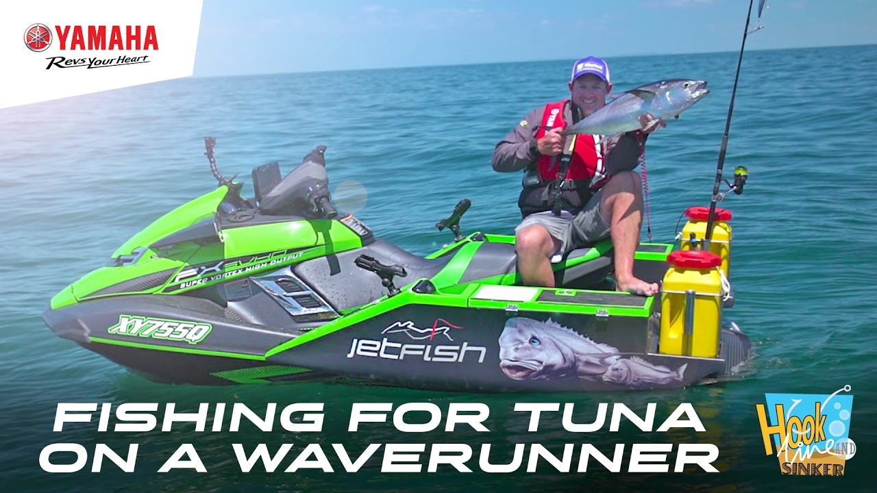 gone fishing for tuna on a yamaha fx svho waverunner