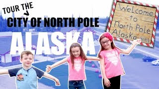 TOUR OF NORTH POLE ALASKA | WHAT IS IT LIKE TO LIVE IN THE NORTH POLE?| Somers In Alaska Vlogs
