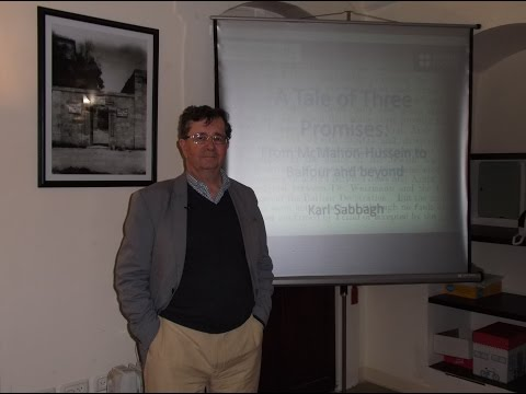 A Tale of Three Promises -- Karl Sabbagh
