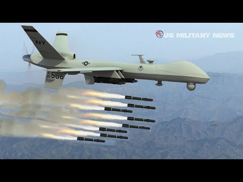 How MQ-9 Reaper Drones Carry Out Airstrikes On Enemies