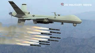 How MQ-9 Reaper Drones Carry Out Airstrikes on Ene...
