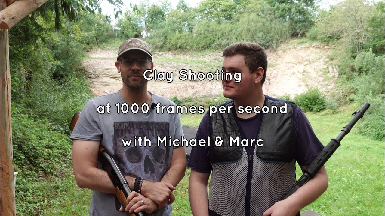 Clay Shooting @ 1000 fps - EPIC!