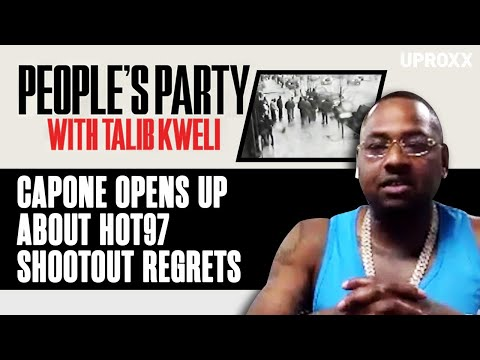 Capone Opens Up About Lil Kim-Foxy Brown Beef & Shares Hot97 Shootout Regrets | People's Party Clip