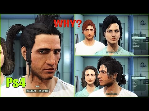 Nuka Hair Combos: Fallout 4 Mods Ps4 [ Male & Female ]