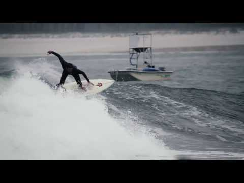 Surfing a world class wave on Florida
