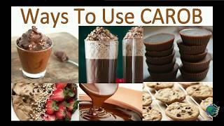Say No to Chocolate,Yes To Carob.Banana Carob Ice-Cream Anyone?Health & Healing Properties of Carob