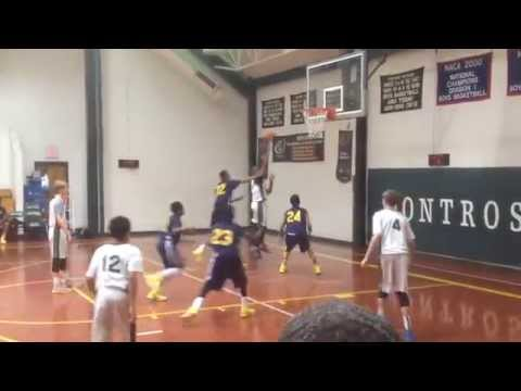 The Woods Academy vs Riverdale Baptist School 02-28-15