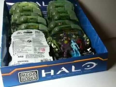 halo mega bloks series  blind pack review  codes