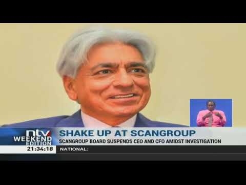 Scangroup board suspends CEO and CFO