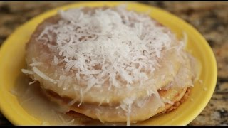 Coconut Pancakes! Homemade Coconut Syrup & Fluffy Pancakes!