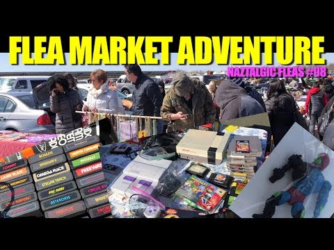 FLEA MARKET ADVENTURE #98 (Retro Video Games, Vintage Toys)